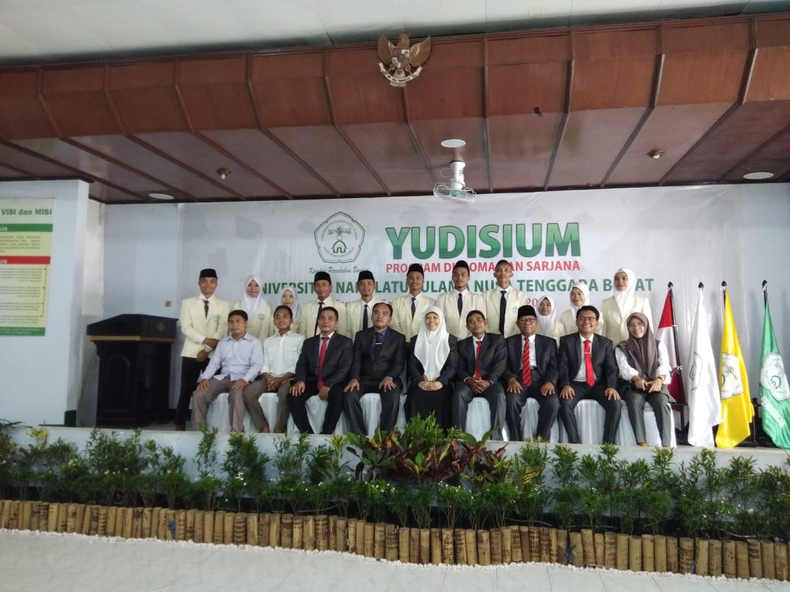 Yudisium Perdana Prodi. Ekonomi Islam FE UNU NTB